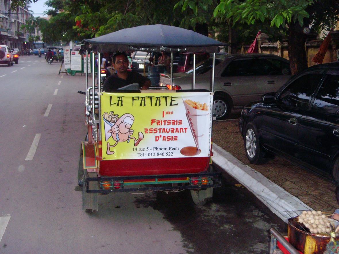 friterie la patate Cambodge